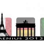 The logo is meant to describe the various countries, Germany, Italy and France. In addition, our project is in photography and therefore the camera is in the logo. In the picture you can see all three attractions, the Brandenburg Gate, the Eiffel Tower and the Leaning Tower of Pisa. In addition, you can see all three flags of the countries.