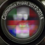 We used the three countries and put them into the lens.  Why did we choose the lens with the three countries? Because the Comenius project is an international photography project with Germany, Italy and France.